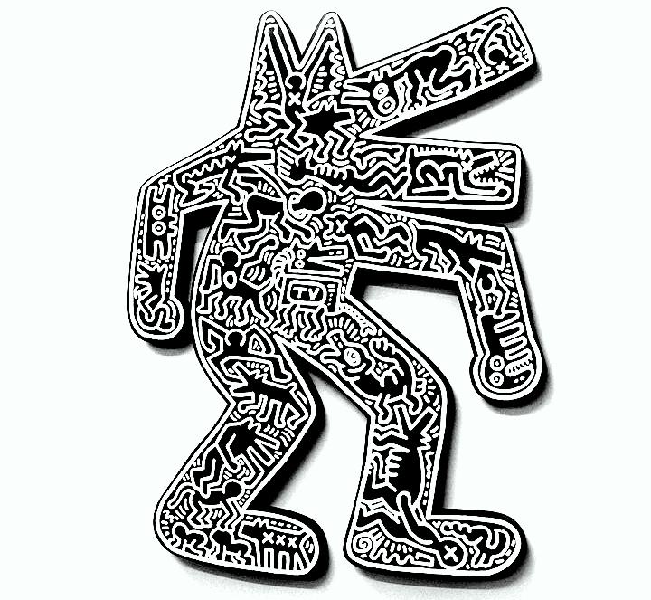 Keith Haring artwork at Mana Contemporary2 Seldom seen Keith Haring artworks at Mana Contemporary