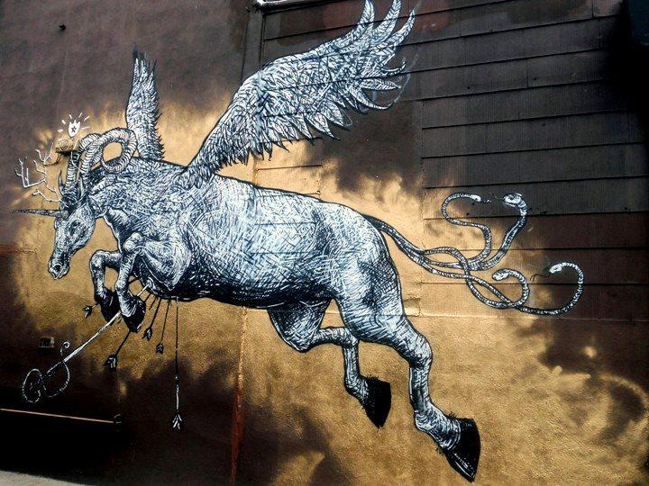 LNY street art