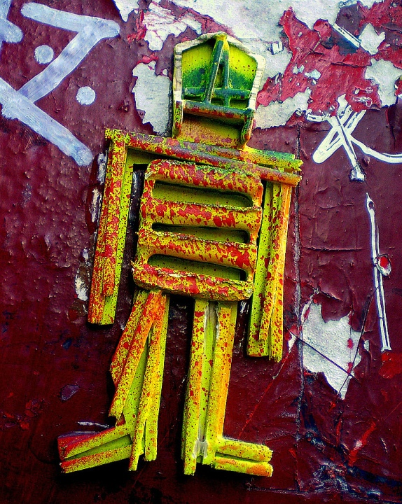 stikman 3D street art in NYC Speaking with the legendary stikman