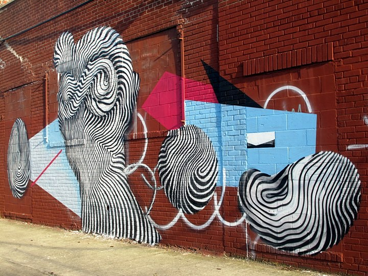 """Never2501 street art"""