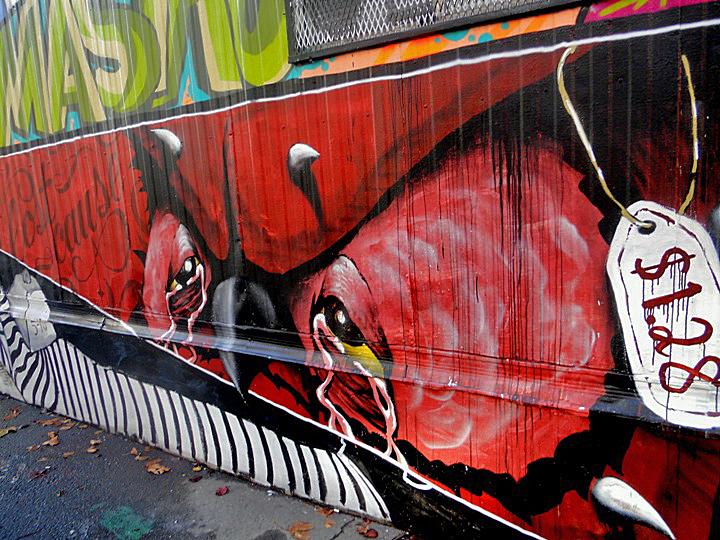 Never street art
