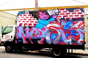 Noxer and 3ess graffiti