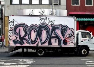 Roda graffiti
