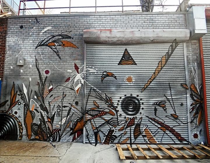 """Shie Moreno street art mural"""