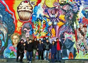Fumero with students