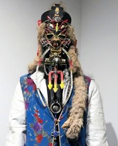 Rammellzee costumed figure