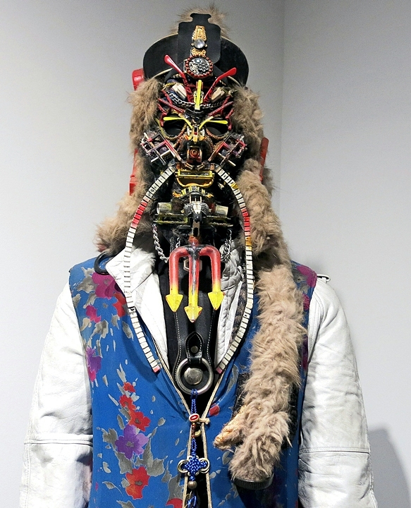 Rammellzee costumed figure