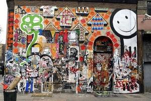 street art and graffiti on 11 Spring Street
