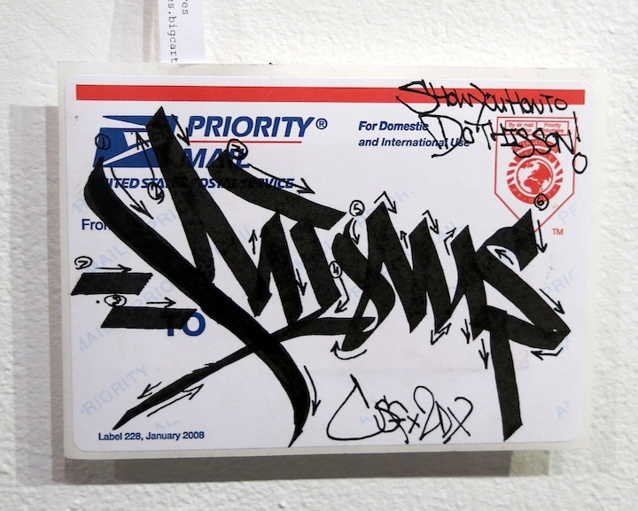 Amongst Thieves sticker Con Artist Gallery Celebrates Sticker Art in SLAP: Adhesives and Egos, a DIY Sticker Exhibition
