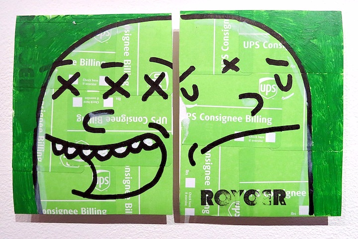 Roycer sticker art