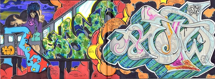 KR.One Black Book Blackbook Pieces and Tags: KR.ONE