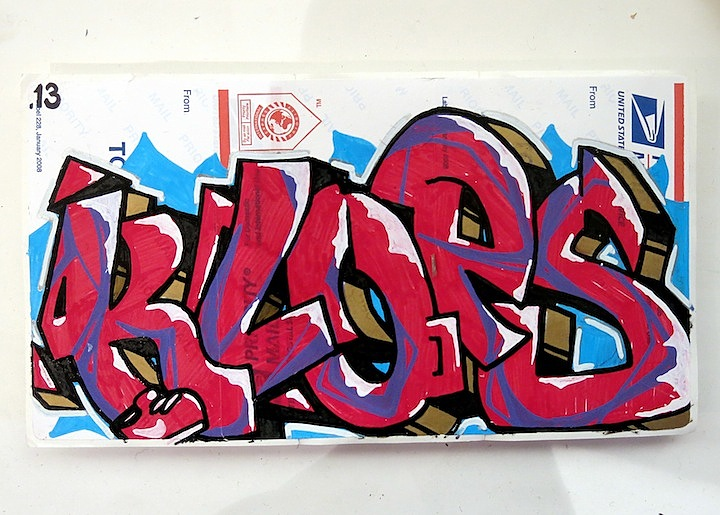 Klops sticker art