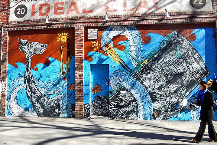 LNY mural in NYC