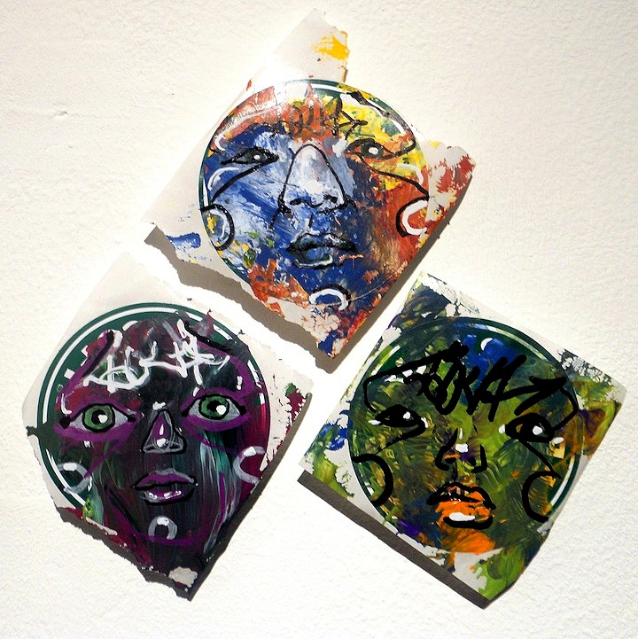 Luv1 Con Artist Gallery Celebrates Sticker Art in SLAP: Adhesives and Egos, a DIY Sticker Exhibition