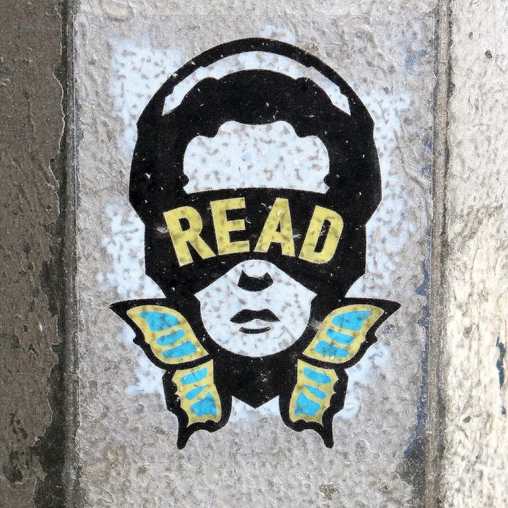 Read sticker art in NYC NYC's Stylish Sticker Art — Part II: Aiko, Read, Choice Royce, Dont Fret, KA, MTK, Jos 1 and Zato