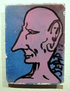 Serp sticker art