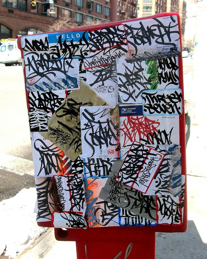 Baser sticker collage