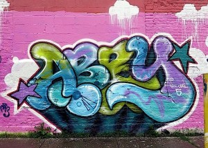 Abby graffiti in Bronx NYC 300x214 Abby graffiti in Bronx NYC