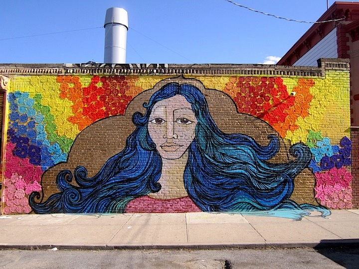 Alice Mizrachi and Olek 4th Annual Welling Court Mural Project Kicks off Tomorrow with Wondrous Art and Huge Block Party