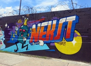 Dabs Myla graffiti tribute to Nekst Brooklyn NYC 300x219 Dabs Myla graffiti tribute to Nekst Brooklyn NYC