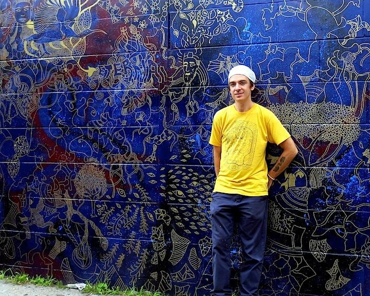 Joshua Gabriel Bedford Styvesant NYC Brooklyn based Artist Joshua Gabriel Fashions Two Elegant Murals in Bedford Stuyvesant, Brooklyn