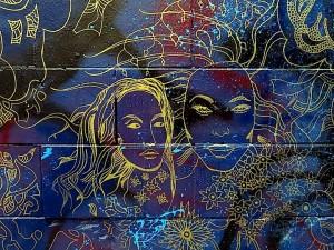 Joshua Gabriel street art mural NYC 300x225 Joshua Gabriel street art mural NYC