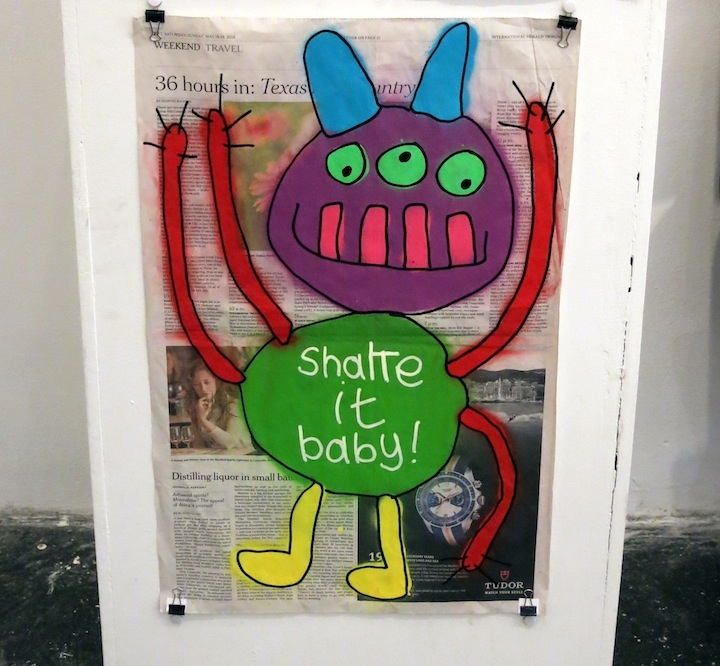 bortusk leer monsters on newsprint Bortusk Leer Brings his Lovable Monsters to NYC