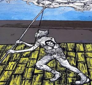 raulep2 300x277 Raul Ayala street art NYC
