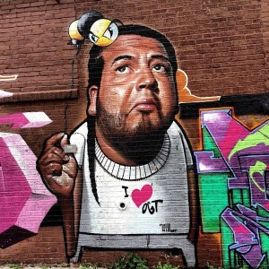 Belin and King Bee street art in Bronx 300x300 Belin and King  Bee street art in Bronx