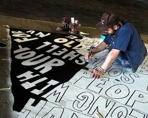 Daniel Patrick paints Pier57 NYC. 300x240 Daniel Patrick
