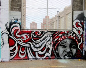 crystal clarity street art on NYC rooftop 300x240 crystal clarity street art on NYC rooftop