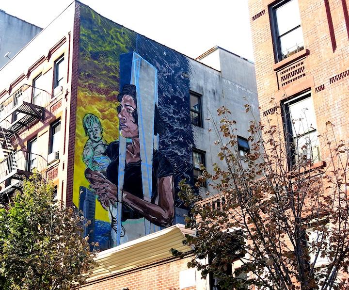 LNY Los Muros Hablan NYC Los Muros Hablan NYC in East Harlem and the South Bronx: Axel Void, Pastel, Celso Gonzalez & Roberto Biaggi, Viajero, Rimx, Betsy Casañas, LNY, Jufe and Elian