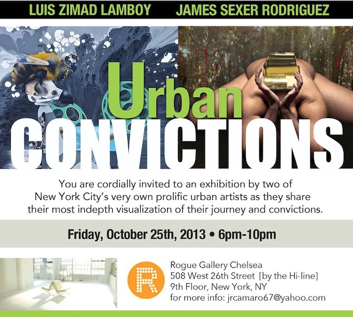 Urban Convictions Rogue Gallery Speaking with Luis Zimad Lamboy
