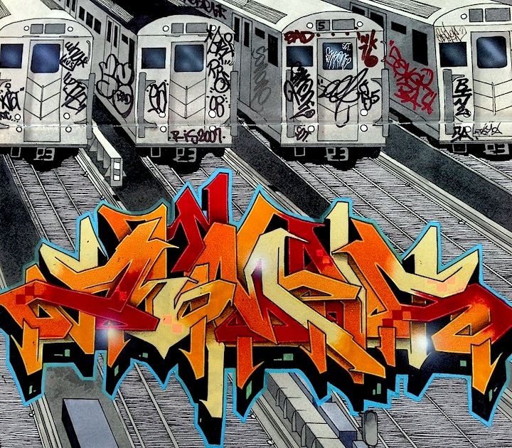 grafiti train tracks black book From Luis Zimad Lamboys Blackbook: Pieces, Tags and Characters