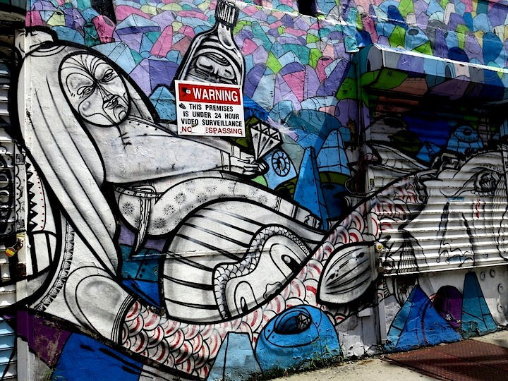 How-and-Nosm-and -R.-Robot-street-art-NYC