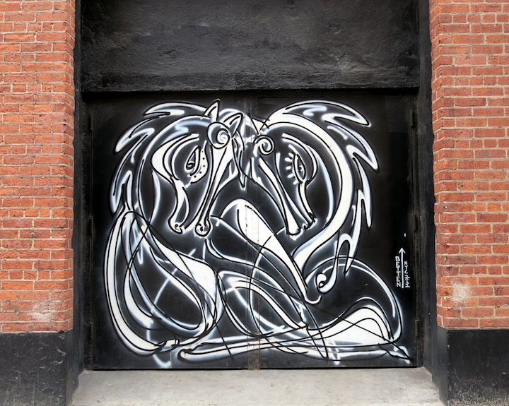 Jordan Betten street art NYC A Feast of Beasts on NYC Streets: Roa, Never, DALeast, Craig Anthony Miller, Mr. Prvrt, Jordan Betten, Willow and KingBee