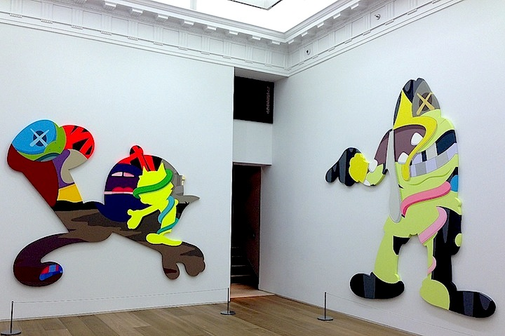 KAWS-art-on-Canvas