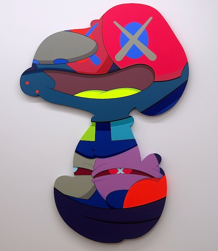 Kaws-charater-on-canvas