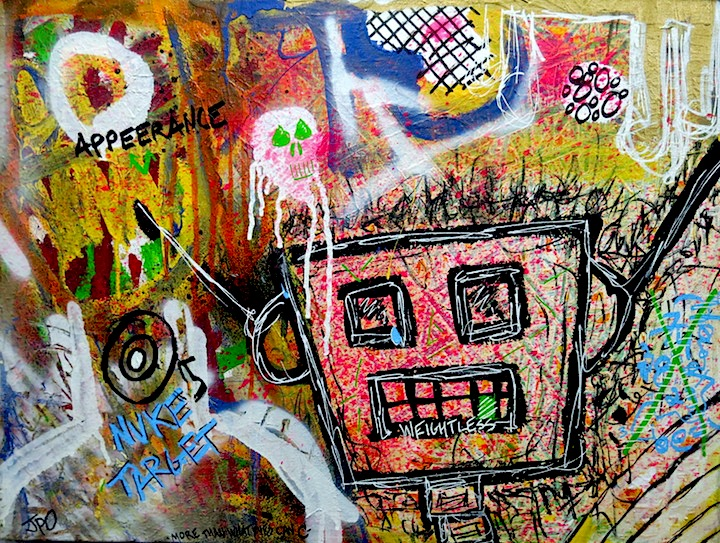 John Paul O Grodnick art WALL WORKS: The  Art of Graffiti at Great Necks Gold Coast Arts Center with Meres One, Zimad, Shiro, See TF, Kid Lew, Hunt Rodriguez, John Paul O'Grodnick and more