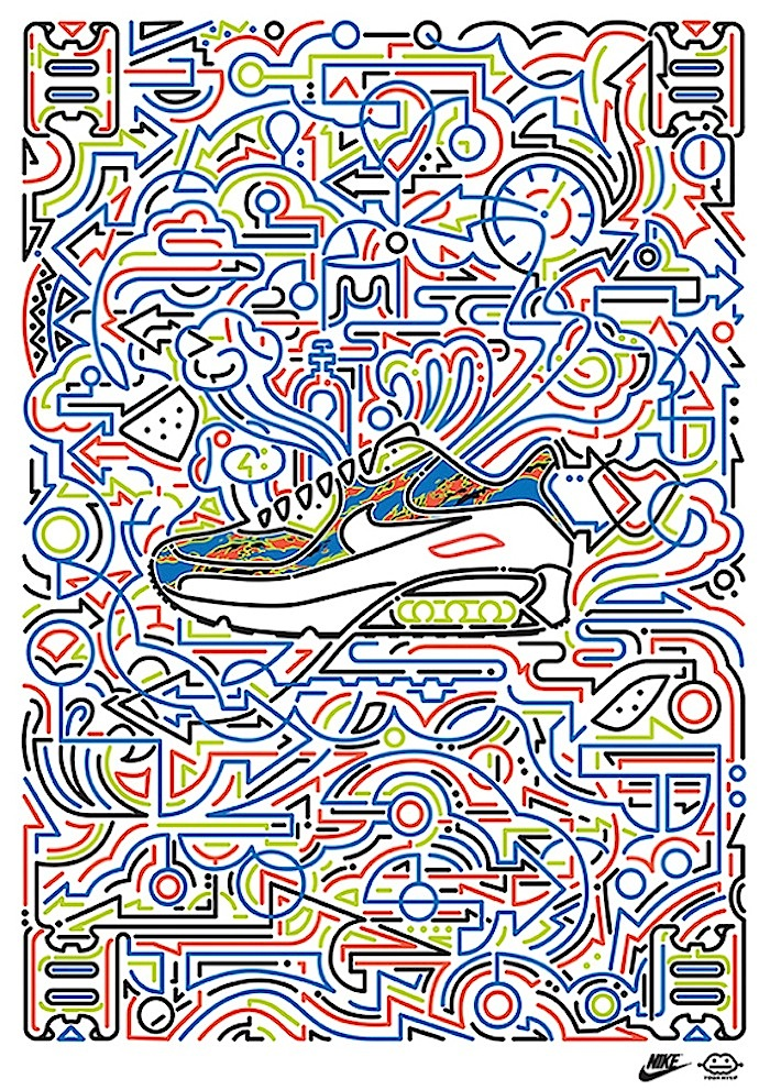 Yoon Hyup design for Nike Speaking with Korean Artist Yoon Hyup