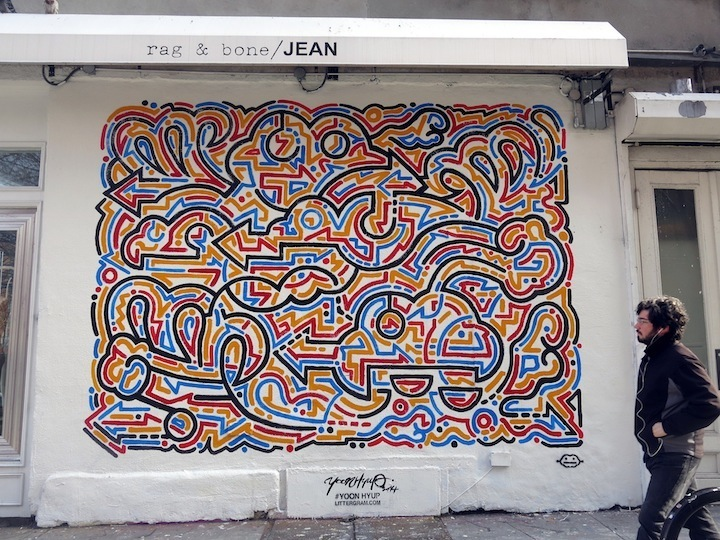 Yoon Hyup street art NYC Speaking with Korean Artist Yoon Hyup