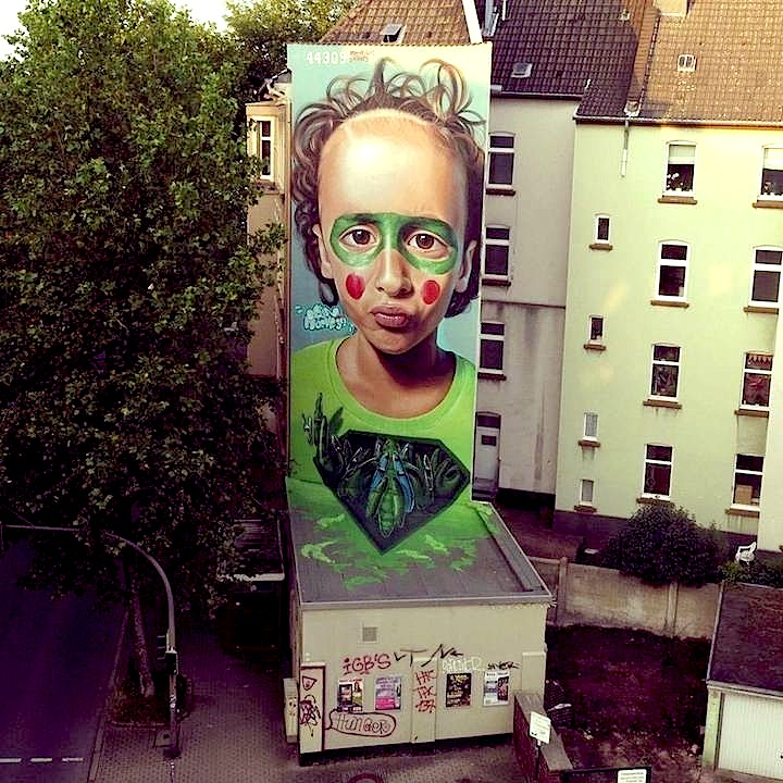 Belin Mücke32 street art Germany Speaking with Spains Belin in NYC