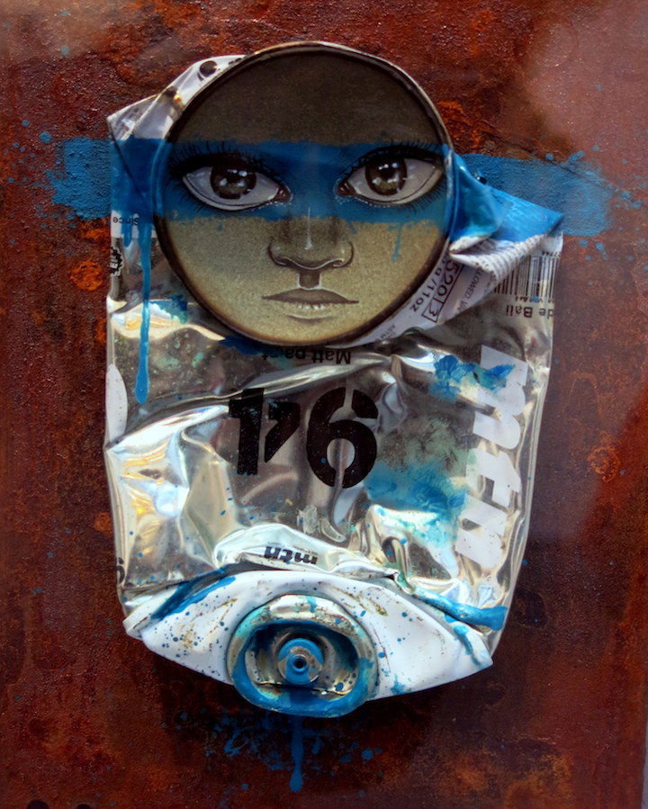 My Dog Sighs art Scope SCOPE New York 2014 with Judith Supine, Beau Stanton, My Dog Sighs, Stormie Mills, Know Hope, Peeta, Mark Jenkins, Banksy and more