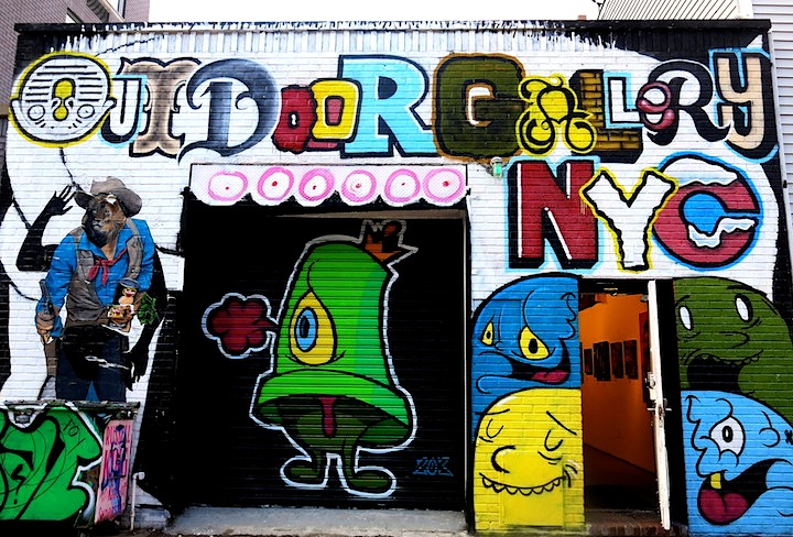 Outdoor Gallery street art 2 Yoav Litvins Outdoor Gallery NYC Moves Indoors to 17 Frost with Enzo and Nio, Cern, Billy Mode, Alice Mizrachi, Chris Stain, Bishop203, Icy and Sot, ÑEWMERICA and more