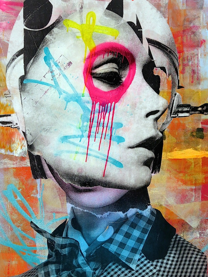 Dain art collage DAIN on His Women, Beauty and His New Exhibit Opening Tomorrow, Thursday, April 3, at Dumbos Folioleaf