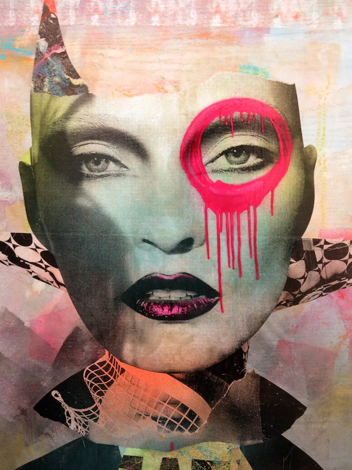 Dain collage DAIN on His Women, Beauty and His New Exhibit Opening Tomorrow, Thursday, April 3, at Dumbos Folioleaf