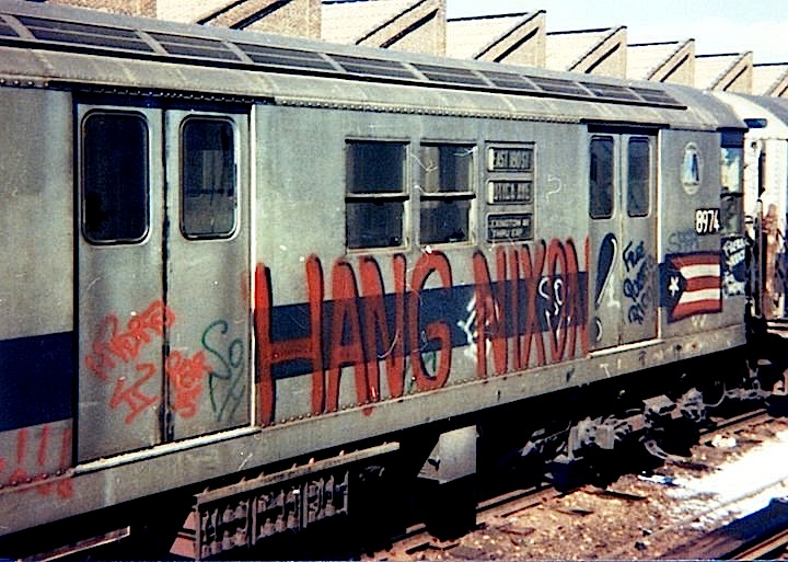 Mico Hang Nixon graffiti on train Speaking with Original School NYC Writing Pioneer MICO