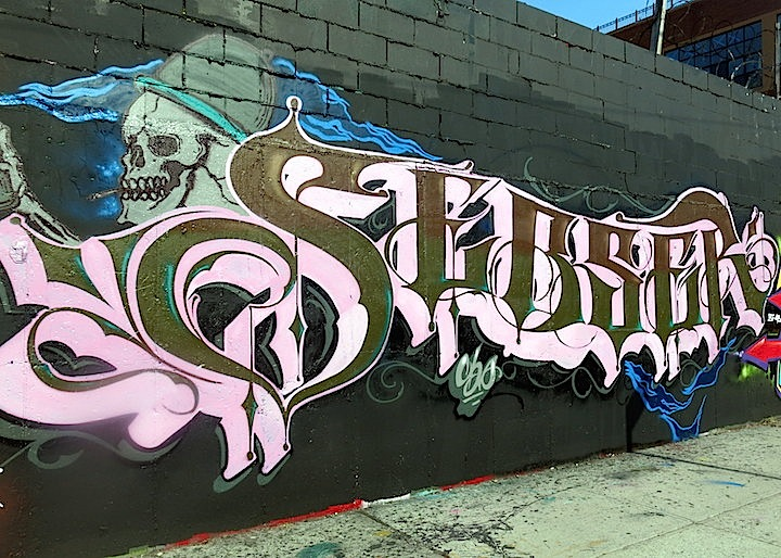 Sebs graffiti Bushwick NYC Busy in Bushwick    Part I: Dero, Ribs, Deem, Slom, Bio and Sebs