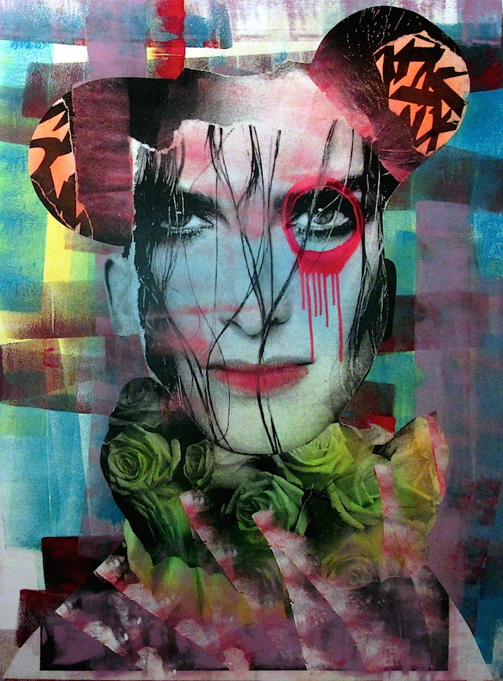 dain found object collage DAIN on His Women, Beauty and His New Exhibit Opening Tomorrow, Thursday, April 3, at Dumbos Folioleaf