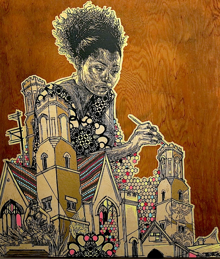 swoon art now Push It at Chelseas ArtNowNY through April 26    with Swoon, Elle, Lady Pink, Lady Aiko, Alice Mizrachi, Vexta, Maya Hayuk and more
